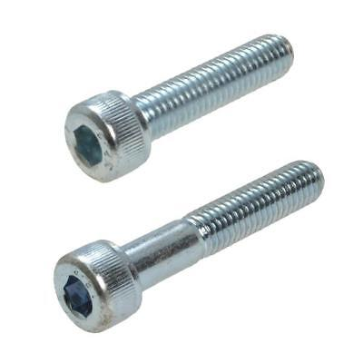 Zinc Plated M8 (8mm) Metric Coarse Socket Head Cap Screw Bolt Allen