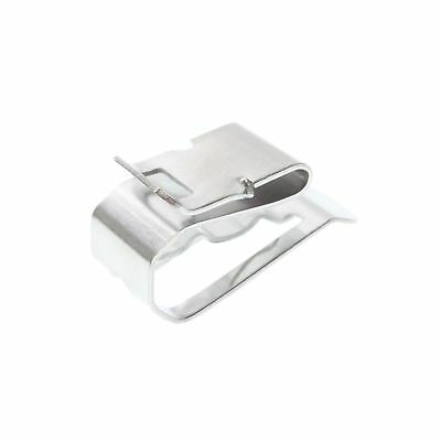 Heyco S6405 SunRunner Stainless Steel Cable Clips (Package of 100)