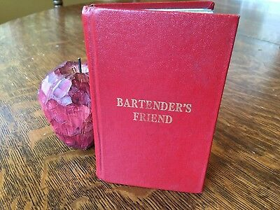 Bartender's Friend NICK THOMAS 1946 VTG Cocktails Book MINI Mixed Drink Guide HB