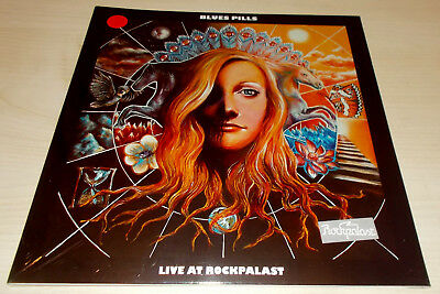 """Blues Pills-Live At Rockpalast-Diehard 10"""" Red Vinyl-200 Only-New & Sealed"""