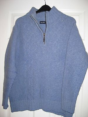 Ladies Size 14 Peter Storm Lambswool Jumper - Lilac Colour