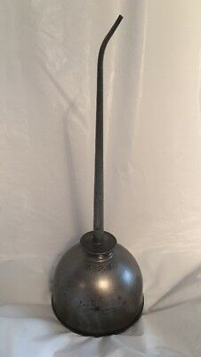 "Vintage Eagle Pump Oil Can...15"" Long...great Condition...made In Usa"
