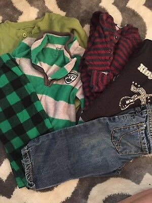 Lot Of Boys Clothing Size 12 Months