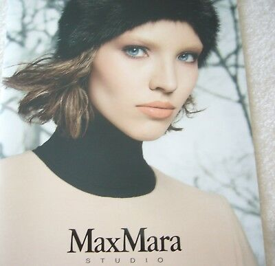 Max Mara Studio Katalogheft Herbst Winter 2013/1014