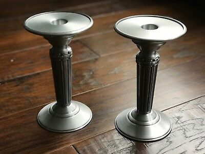 Longaberger Candlesticks Set of 2