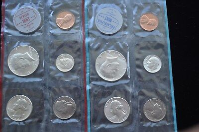 "1964 P-D Kennedy Silver Mint Set ""With Mint Luster"""