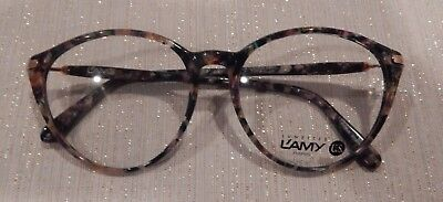 Vintage L'AMY Jessica Col.6488 51/17 P3 Round Eyeglass Frame New/Old Stock