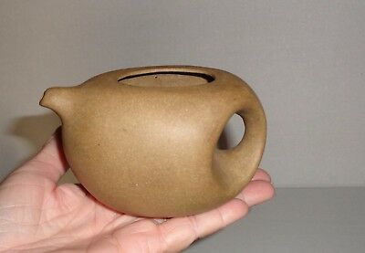 Antique or Vintage Marked Chinese Yixing Clay Teapot ~ Missing Lid
