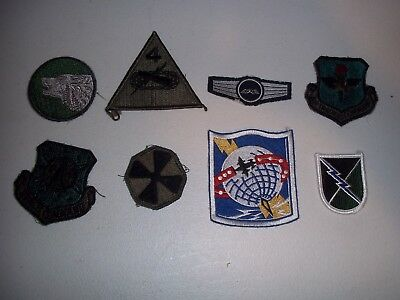 Wwi Wwii Korean War Vietnam Us Army Patch Lot #125