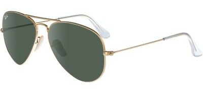 Ray-ban Small Aviator RB3025 W3234 55-14 Classic Gold/G-15 Green Lens