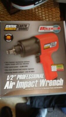 """Central Pneumatic Earthquake 1/2"""" Professional Air Impact Wrench (62627)"""