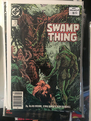 SWAMP THING #47 NM 1st Print ALAN MOORE Newsstand Edition