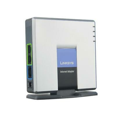 Unlocked Linksys VoIP Phone Adapter PAP2T Internet phone adapter with 2voip port