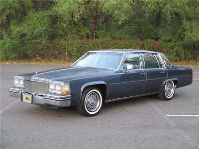 1984 Cadillac DeVille FLEETWOOD BROUGHAM 1 OWNER!