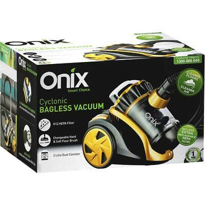 Brand New Onix 2000W Cyclonic Bagless Vacuum Cleaner 2L Dust Canister Hepa