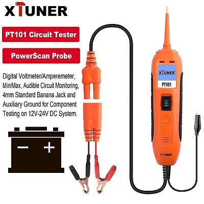 Open Circuit Finder Tester Cable Wire Tracker Car Repair Tool 6-42V DC EM415PRO