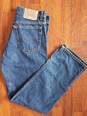 Mens LEVIS 607 Jeans Pre-Loved Worn In sz 32 Made in Australia