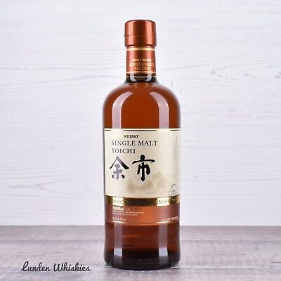 Nikka Yoichi Moscatel Wood Finish Single Malt Japanese Whisky Limited Release