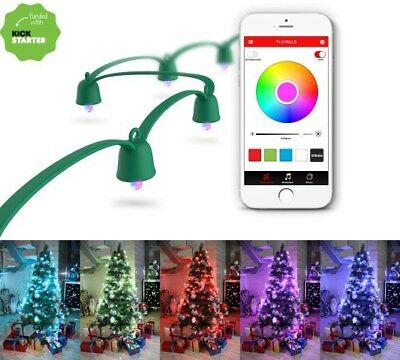 MiPow Playbulb Smart LED String Lights Lichterkette, 10 Meter