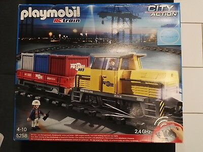 Playmobil 5258 RC Train Güterzug