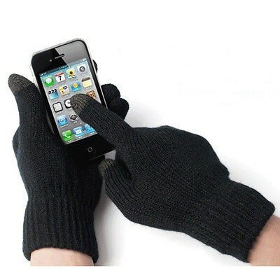 SET 12 Paar Touchscreen Winter Handschuhe Damen Herren iPhone 5 5G 4 4S iPad