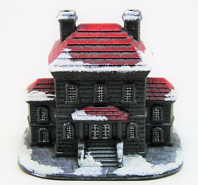 Ceramic County Jail Byron Molds Bisque Village Shiloh Currier Ives Dickens 1987