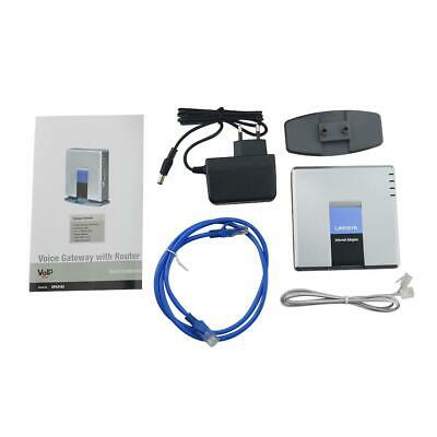LINKSYS SPA3102 Voice Gateway VoIP phone Router 1FXO 1FXS Unlocked Phone Adapter