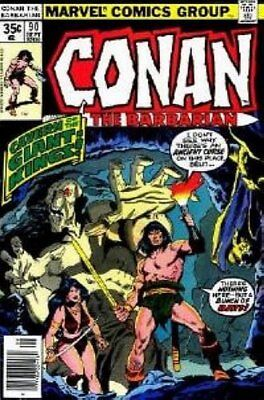 Conan the Barbarian (Vol 1) #  90 (VryFn Minus-) (VFN-) Marvel Comics AMERICAN