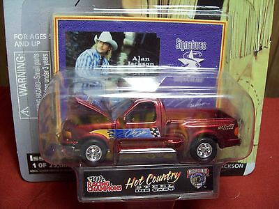 Alan Jackson Issue #3 Hot Country Limited Edition Die Cast Car Hood Open