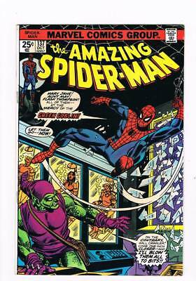 Amazing Spider-Man # 206  Parker Goes Wild !  grade 8.0 scarce book !!