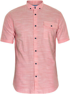 Matinique Yarn Short Sleeve Shirt/Faded Red - Small WAS £64.95