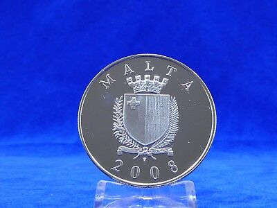 10 Euro Malta 2008,Architektur,Silber PP/Proof (1681)