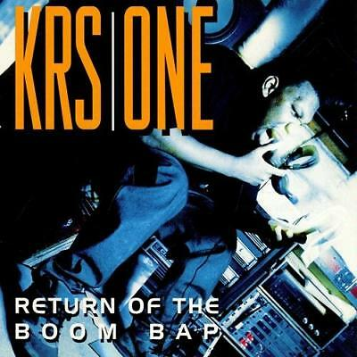 Krs One Return Of The Boom Bap New Sealed Clear Vinyl 2Lp Reissue In Stock