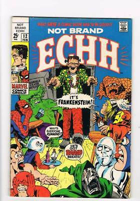 Not Brand Echh # 12 Comiclot !  grade 7.5 scarce book !