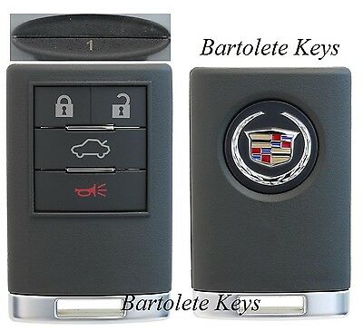 OEM Fob Keyless Entry Remote #1 for 2010 Cadillac CTS (Regular Ignition Models)