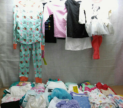 35 Assorted Girls Tops Bottoms Sets Wonder Kids Small Wonders Etc 0-3 Mos To 5T
