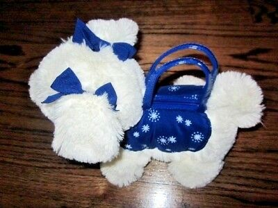 GYMBOREE Shimmer and Twirl Snowflake Puppy Purse