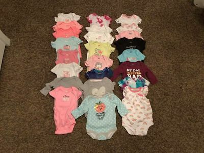 Lot of Newborn Size Baby Girl Clothes NB