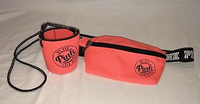 Victoria's Secret Pink Fanny Pack And Loozie Set