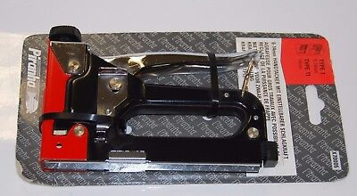 Piranha Stapler Type 1 Staples 6 - 14mm & Type 11 Staple Gun Hand Tacker X70005