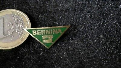Bernina Nähmaschinen Brosche Brooch kein Pin Badge alt rare