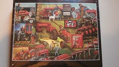 MASSEY FERGUSON MULTI-POWER Tractor Puzzle 65 Diesel-Matic, 150,165,175,180,1100