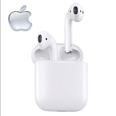 Apple Airpods Mmef2Zm/a Bluetooth Headset Wireless Drahtlos Kopfhörer Neu