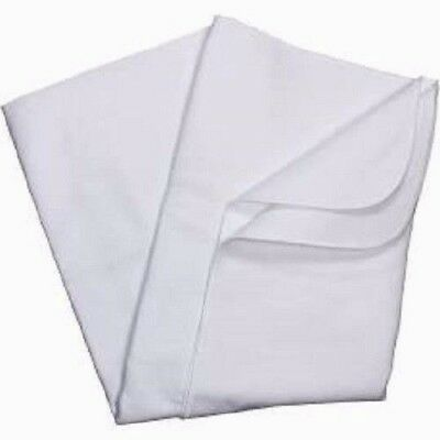 Carter's Keep Me Dry Waterproof Fitted Quilted Crib Pad, White Standard 28 x 32