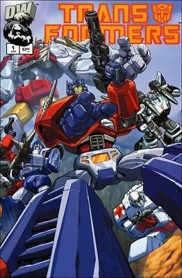 Transformers Generation 1 (2002) #1 to 6 Complete (Autobot Covers)   NM- to NM/M