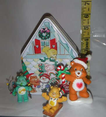 Care Bear Christmas Ornament 3 Piece and Tin