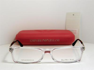 81aba4142b New Authentic Emporio Armani Eyeglasses EA 9770 TDW EA9770 Made In Italy  50mm