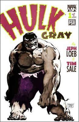 Hulk Gray    #1 to 6 Complete (Jeph Loeb & Tim Sale)   NM- to NM/M