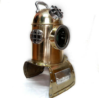"Scuba Divinhood Style 25"" Diving Helmet Deep Sea Divers Reproduction Replica"