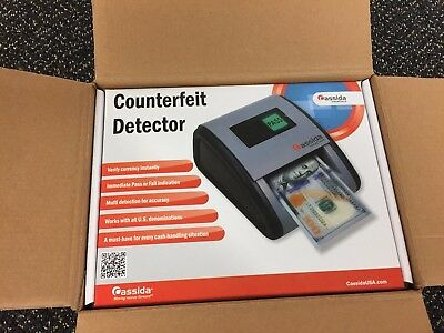"Cassida Small Footprint ""Easy Read"" Automatic Counterfeit Detector Instacheck"